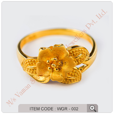 Indian Gold Rings For Women More information
